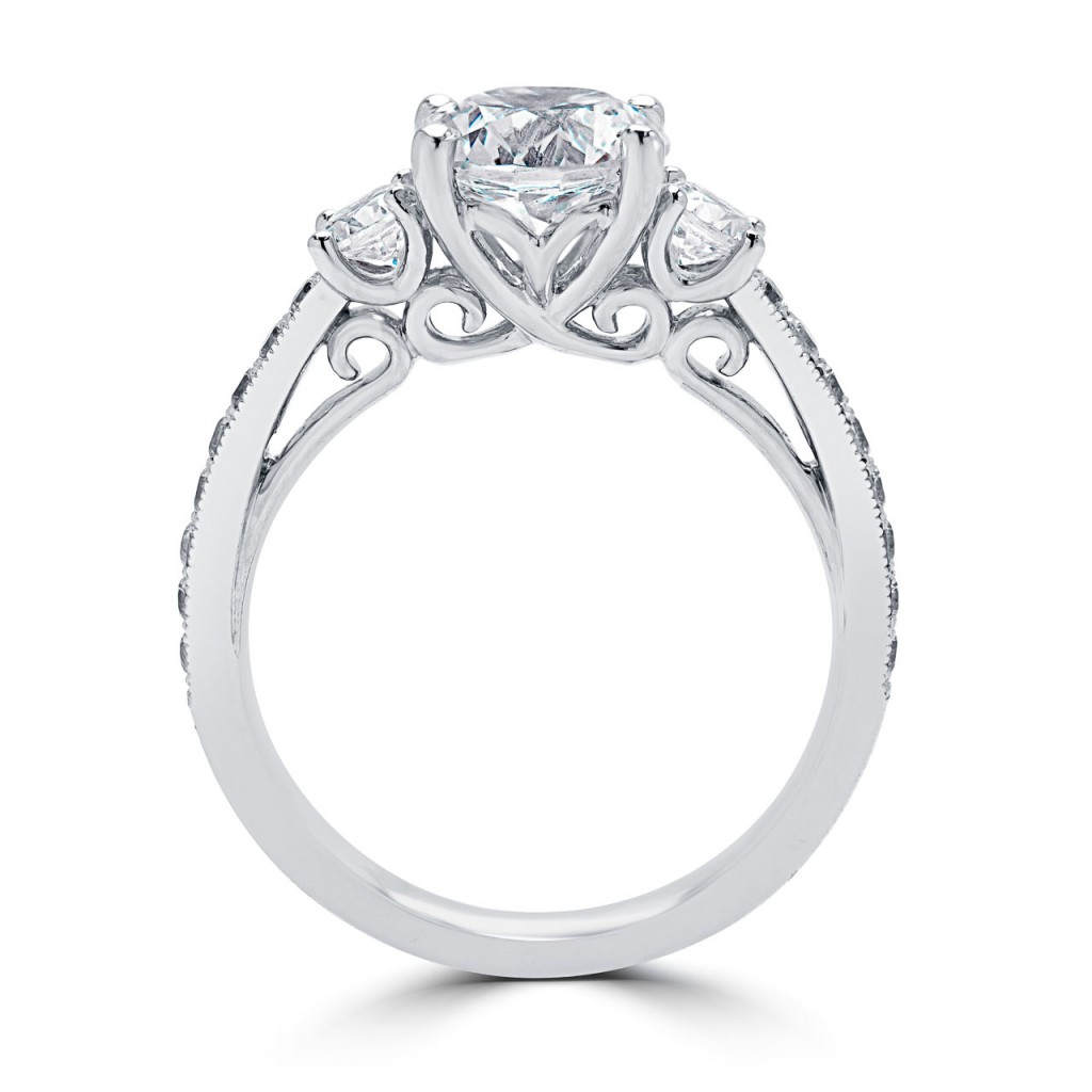 Custom Diamond Engagement Ring Montreal